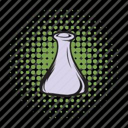 analysis, chemistry, comics icon, equipment, experiment, medical, medicine icon