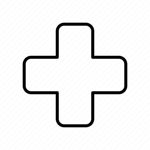 cure, medical, medicine, plus, plus symbol, treatment icon