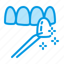 dental, dentistry, medical, teeth, veneers icon