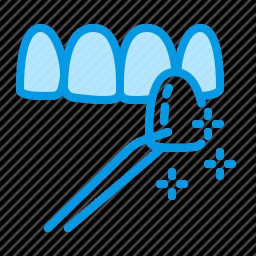 dental, dentistry, medical, teeth, veneers icon