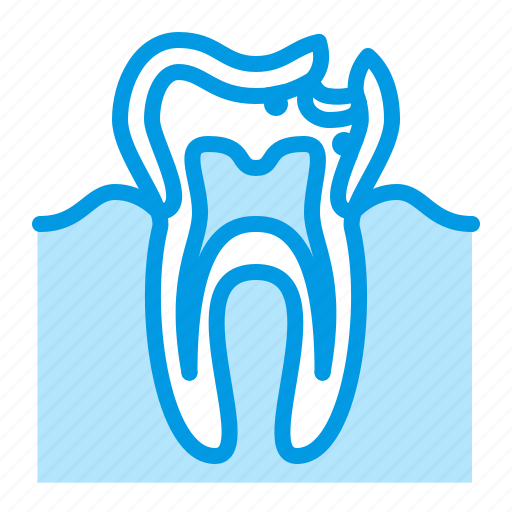 caries, dental, dentistry, medical, tooth icon