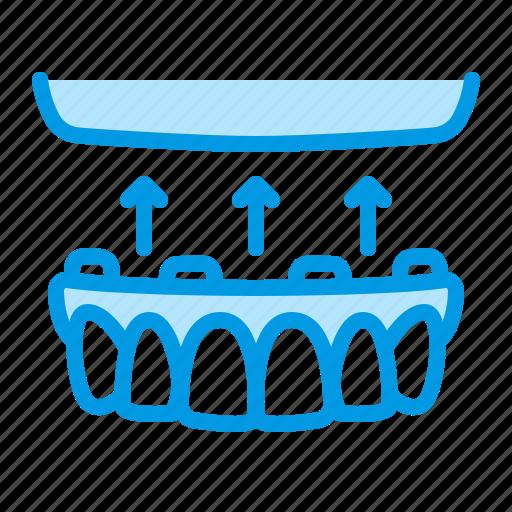 dental, dentistry, medical, prosthesis icon