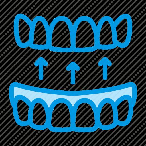 dental, dentistry, denture, medical, prosthesis icon