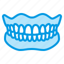 dental, dentistry, denture, medical, teeth icon