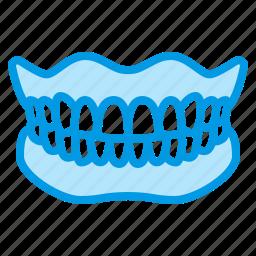 dental, dentistry, denture, medical, teeth icon