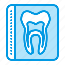 dental, dentistry, medical, ray, tooth, x icon
