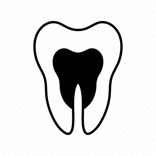 decayed tooth, dental, dentist, medical, medicine, teeth, tooth icon