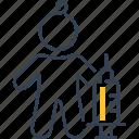 vaccination, vaccine, syringe, child, person, children