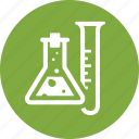 chemistry, experiment, laboratory tubes, science icon