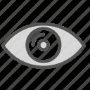 anatomy, eye, organ icon