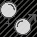 female, male, man, mark, woman icon
