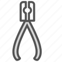 equipment, forceps, medical, tool icon