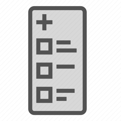 doctor, examination, medical, paper, report icon