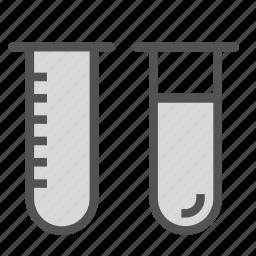 flask, test, tube icon