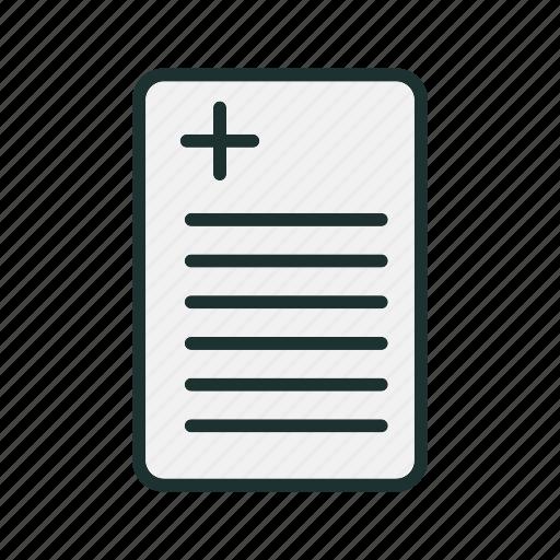 Doctor, hospital, medical, report icon - Download on Iconfinder