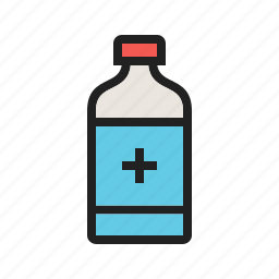 bottle, capsule, drug, medical, medication, medicine, pill icon