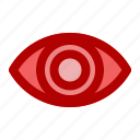 care, center, eye, hospital, medical, sight, vision icon