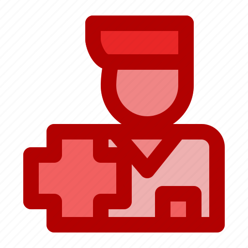 care, center, hospital, man, medical, patient, person icon