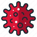 bacteria, infection, virus icon