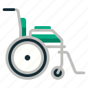 disability, emergency, handicap, hospital, wheelchair icon