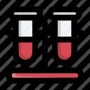 chemical, chemistry, flask, medical, medicine, test tube, tube icon