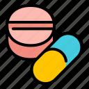 pill, medicine, medical, health, capsule, tablet, antibiotic