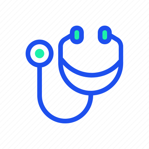 doctor, heartbeat, medic, medical, stethoscope icon