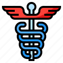 caduceus, healthcare, medical