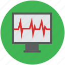 heartbeat, heartbeat screen, lifeline, pulsation, pulse, pulse rate icon