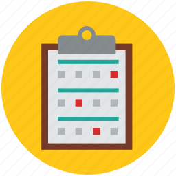 chart, medical, medical clipboard, medications, medicine sheet icon