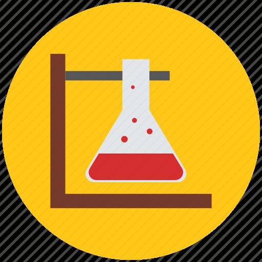 beaker, erlenmeyer flask, flask, lab equipment, medical icon