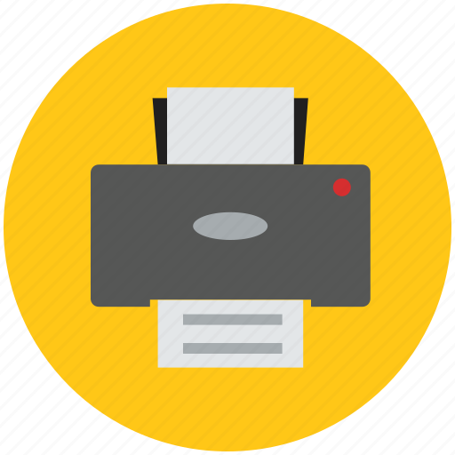copier, document, office, paper print, print machine, printer icon