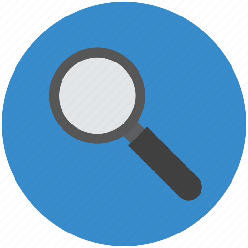 analyzing, checkup, inspection, magnifier, magnifying glass, zoom icon