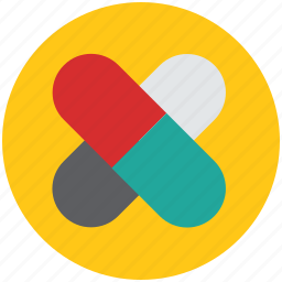 capsules, drugs, medications, medicines, pills, tablets icon