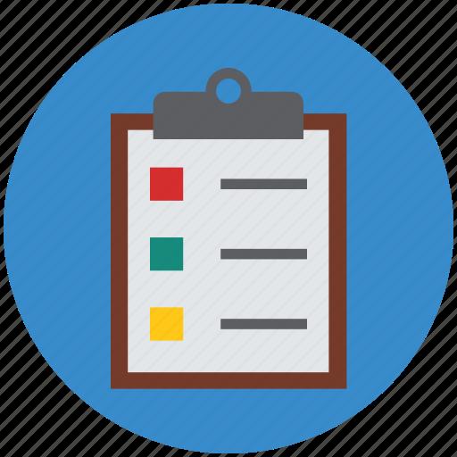 chart, checklist, clipboard, clipboard list, medications, prescriptions icon