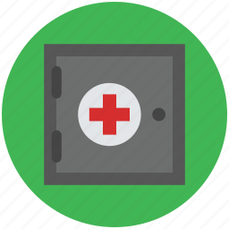 aid, first aid, first aid box, first aid kit, medical icon