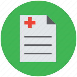 chart, medical, medical report, medications, medicine sheet icon