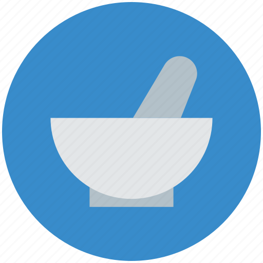 medical, mixer, mortar and pestle, pharmacist, smash icon