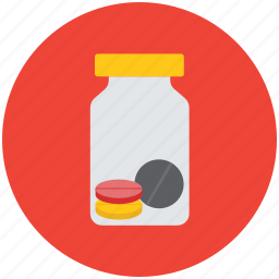 bottle, drug, drugs, medical bottle, medicine, medicine jar, pills jar medicine icon