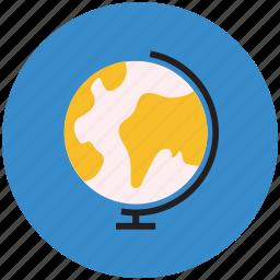 earth, global, globe, table globe, world, worldwide icon