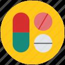 capsule and pills, drug, medications, medicines, pills, tablets