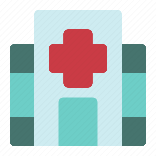 building, care, center, health, hospital, medical icon