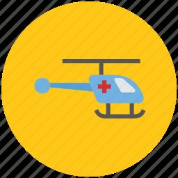 emergency flight, helicopter, medevac, medical, medical flight, medical rescue icon
