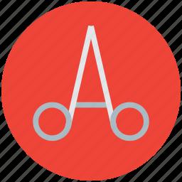 equipment, medical, scissor, surgical, tool icon