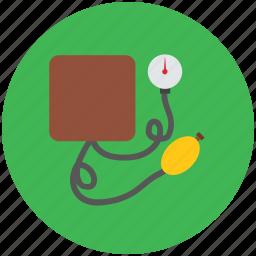 bp monitor, medical, sphygmomanometer, vital signs, vitals icon