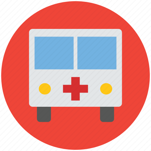 ambulance, medical, rescue, rescue service, transport, vehicle icon