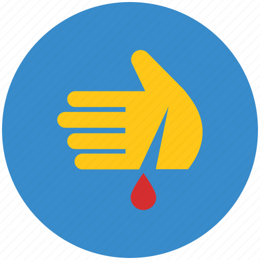 blood bank, blood donation, blood relation, donation, hand, hand drop icon