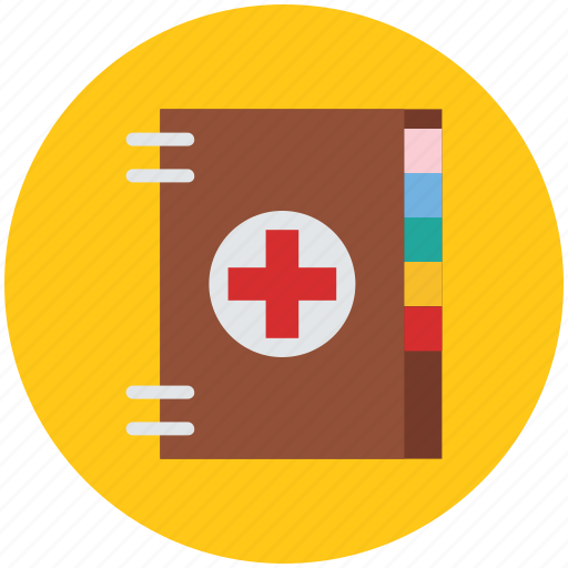 booklet, instructions, manual, medical book, notebook, notepad icon