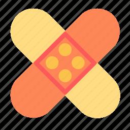 bandage, injury, sticker icon