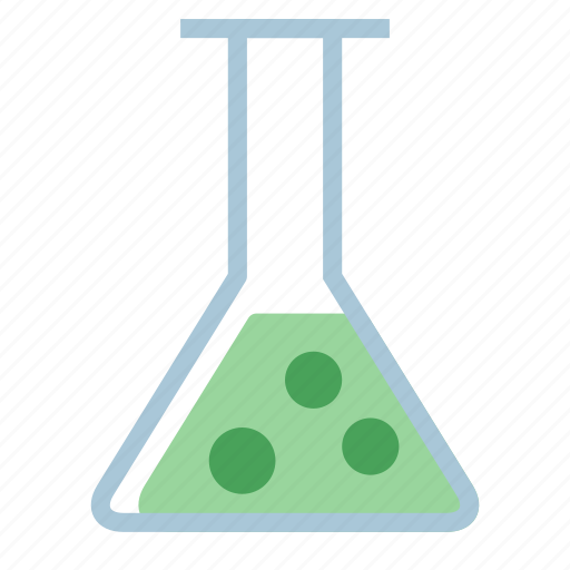 chemical, container, flask, laboratory icon